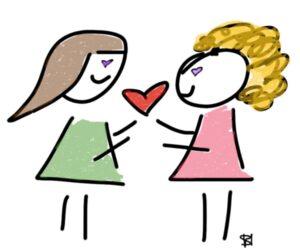 amicizia del cuore